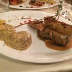 Tournedos Rossini et Raviolis à la Truffe