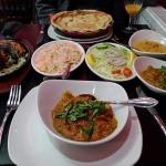 Fantastic indian meal