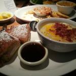 Monte Cristo and Potato Soup