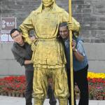 ming bronze statue