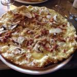 Pizza crème (fevrier 2015)