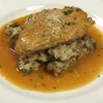 Chicken Marsala, Mushroom Risotto