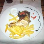 Chicken with Chips