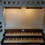 Sakskøbing Kirke, spillebord ældre orgel