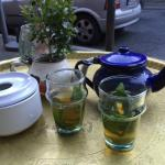 The famouse Moroccan Tea