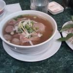 Pho with lean beef