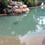 Beautiful pool at the back of resort
