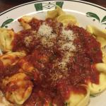 Asiago Tortelloni With Meat Sauce