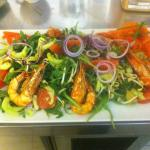 la salade Thaie aux Gambas
