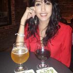 girlfriend and beer