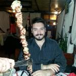 """El menda con el """"espetacular"""" plato de carne"""