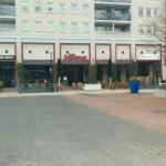 Vanaf het plein
