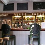 The cozy main bar