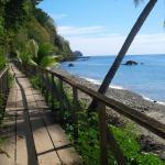Champagne Beach Board Walk