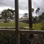 Porch mit einem Blick