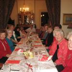 Daughters of the Pioneers members held Christmas time Lunchen,