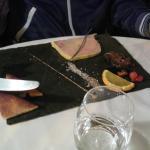 (déc 2014) entrée: foie gras