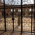 belíssimo portão interno do Palau March
