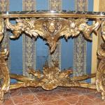 A rather ornate table.