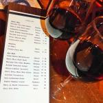 Cugino's has a new wine list.