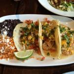 Tacos with shrimps
