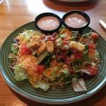 Side Salad (huge!)