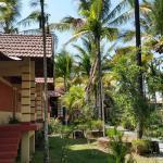 beautiful garden, resort grounds