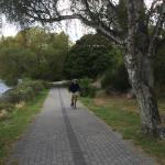 Bike ride around Lake Taupo