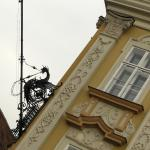 The Baroque Palace / The Art Museum - detail on the facade