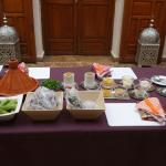 Cookery class with Irham expertly presented