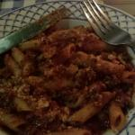 Penne bolognese! Amazing