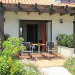 A private terrace