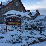 Atholl Villa winter