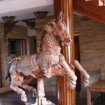 Dekoration i lobbyn
