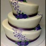 topsy turvy with purple hearts