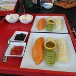 Obst zum reichhaltigen Frühstück