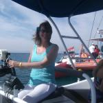 Pirates have taken over ' The Flying Dutchman' Dolphin watch boat.