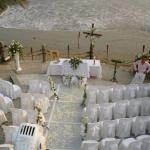Area de playa para bodas y eventos