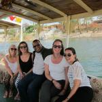 Us with our amazing guide Mohammad on the Nile!