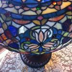 Detail of Union Gables Tiffany lamp
