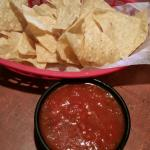 Chips and salsa.