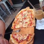 "12"" shrimp pizza"