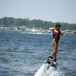 Try the new Hydroflight sport, Flyboarding!