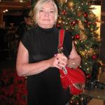 Claudia Wilczynski loves the prime rib and wine at Philippi's