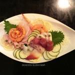 large sashimi appetizer