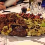 Piatto principale del Menu 5 da 35€