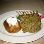 Delicious rack of lamb