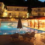 Pelagos Bay Hotel evening