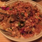 Tripe & calamari salad