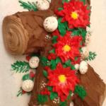 Annual Yule Log Cake